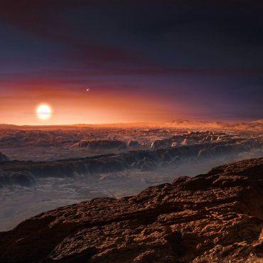 JWST May Detect Artificial Lights On Proxima b
