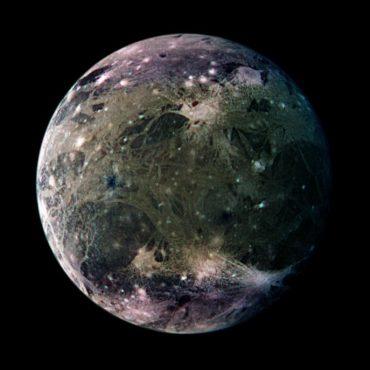 Hubble Finds Water Vapor On Jupiter's Moon Ganymede
